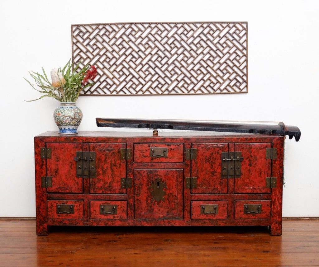 Red elm sideboard perfect for your new TV